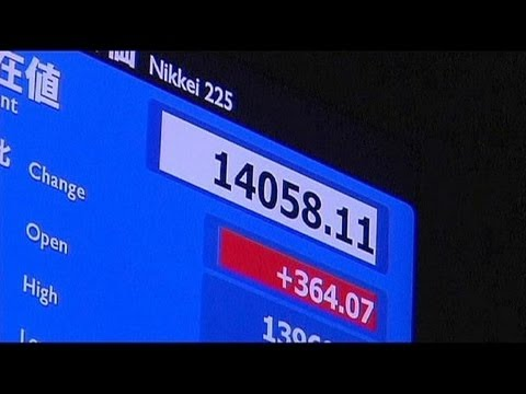 Nikkei breaks 14,000 barrier for first time in 5 years - economy