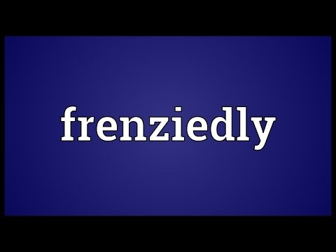 Header of frenziedly