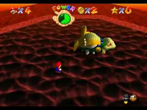 Mario 64 beaten with 0 stars in 5:47