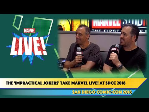 The 'Impractical Jokers' take Marvel Live at SDCC 2018