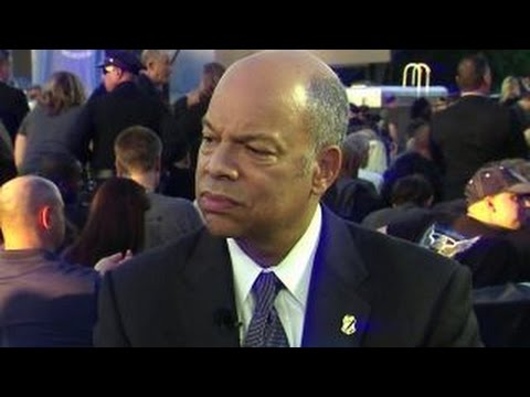 Jeh Johnson pays tribute to law enforcement heroes