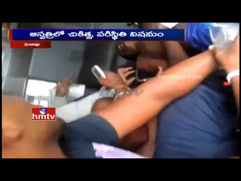 one injured at Army Recruitment rally in Visakhapatnam | HMTV Exclusive
