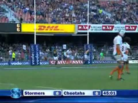 Super Rugby 2011- Rd 3- Stormers vs Cheetahs
