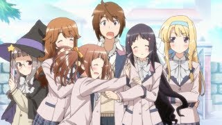 Top 10 Anime Where Many Girls Fall For The Same Guy [HD]