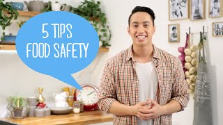 Tips Kesehatan Makanan (Food Safety tips from World Health Organization)