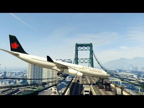 GTA 5 - Amazing\terrible PLANE CRASH Compilation #9 (GTA 5 crazy moments)...