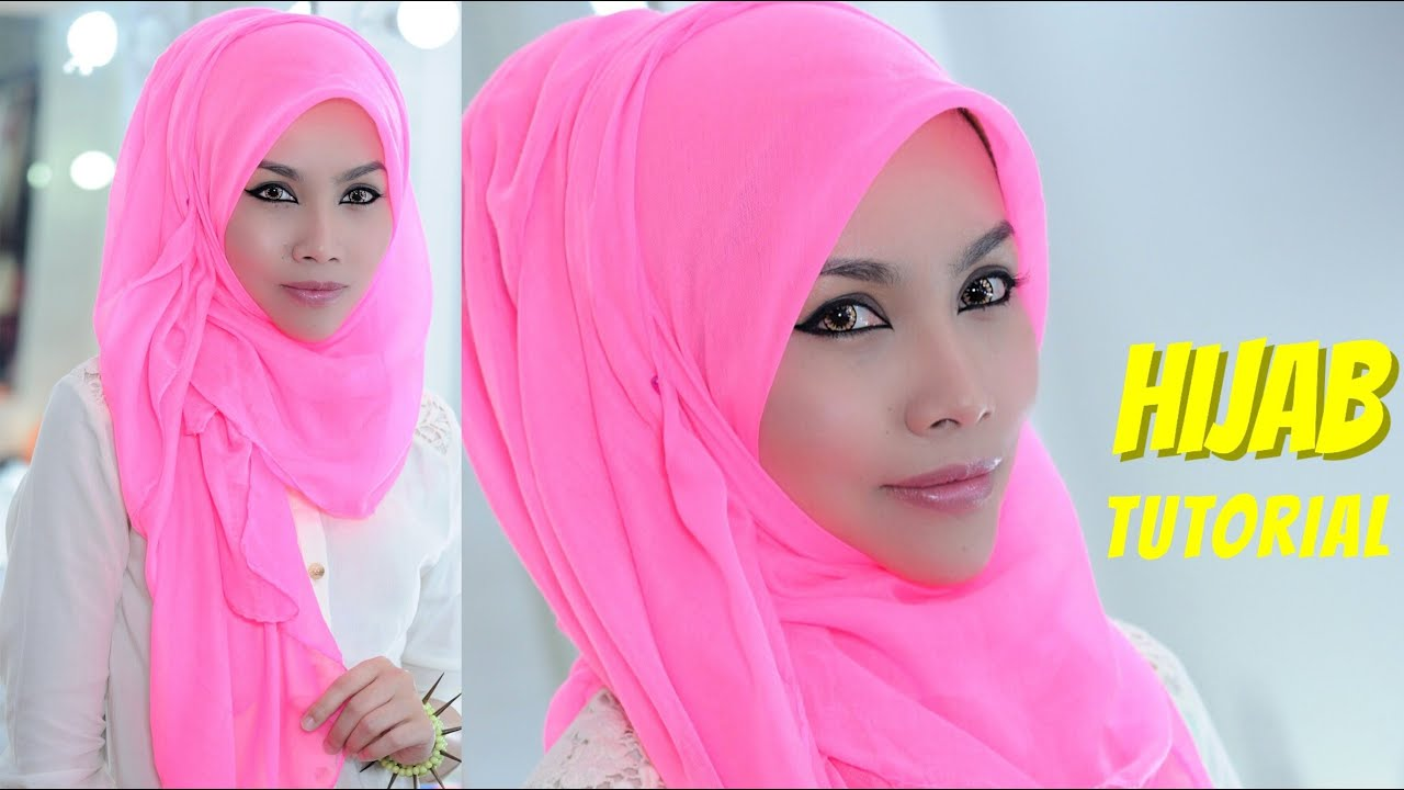 Tutorial Hijab Pesta Untuk Wajah Bulat Blog Video Tutorial