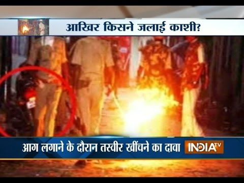 Watch who erupts violence in Varanasi