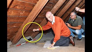 This German Man Found a Secret Compartment in His Attic  What Was Inside Incredible‏