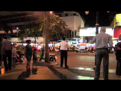 Preaching the gospel to Patpong Road (July 19, 2013)