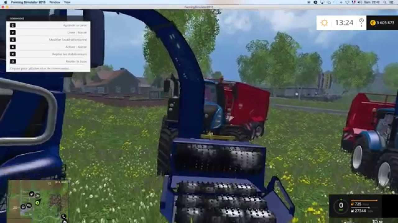 farming simulator 2015 mods brusks broyeur de bois wood. Black Bedroom Furniture Sets. Home Design Ideas