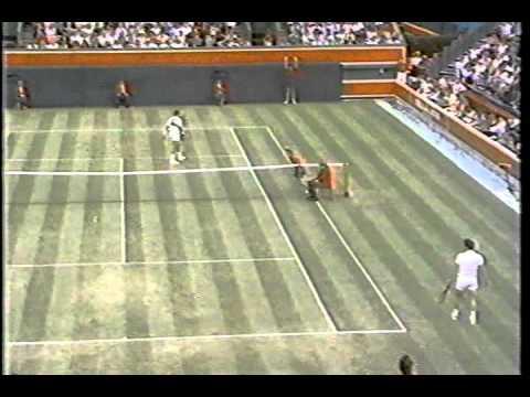 Ivan Lendl vs McEnroe SF - Queens 1990