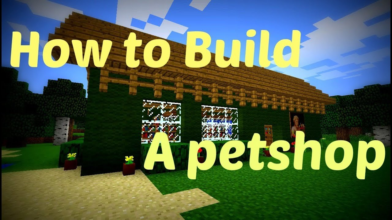Cool Buildings Minecraft Minecraft How to Build a Pet