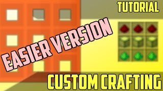 Custom Crafting - Minecraft Command Block Tutorial [1.11][1.10][1.9]