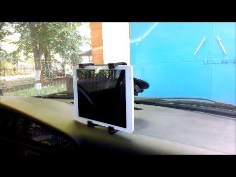 Крепление планшета в автомобиле на торпеду алиэкспресс