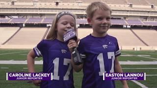 K-State Athletics | Football Junior Reporters
