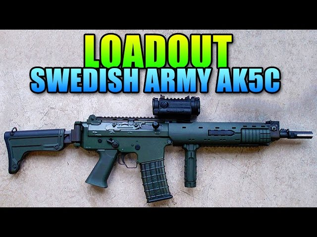 Loadout - Swedish Army AK5C - Most Used Gun! | Battlefield 4 Carbine Gameplay