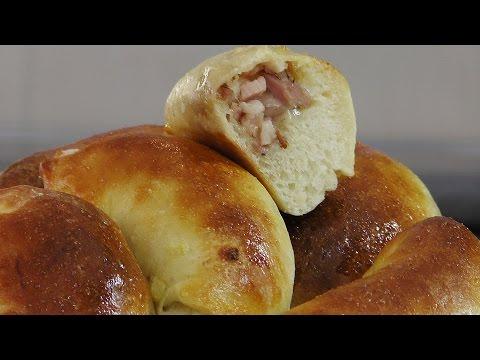 Пирожки со шпиком (Спетя пирадзини) видео рецепт
