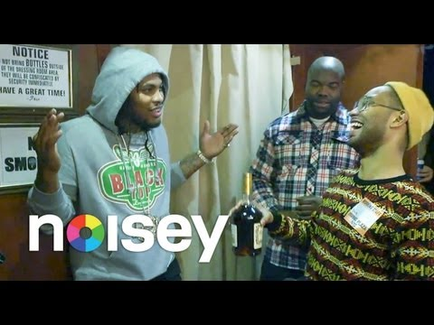 Homie Got Too Turnt Up: Waka Flocka & Gucci Mane Amp Interviewer Into Drinking A Whole Bottle Of Henney For $2,000!