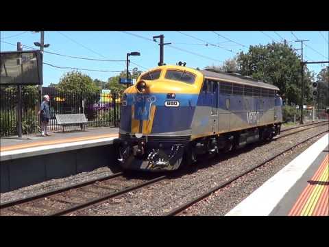 Metro Trains- Moroolbark train derailment. Hitachi!