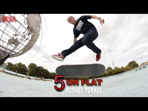 5 On Flat With Rodney Torres