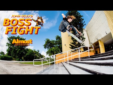 """Almost Presents John Dilo's """"Boss Fight"""" Part"""