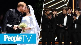Meghan Markle & Prince Harry's First Dance, BTS Attends The Billboard Music Awards   PeopleTV