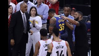 Drake Consoled Kevin Durant After His Achilles Injury In Game 5 | NBA Finals