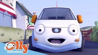 Cars for Kids -  Songs About Helping Others | Transport for Kids | Olly the Little White Van