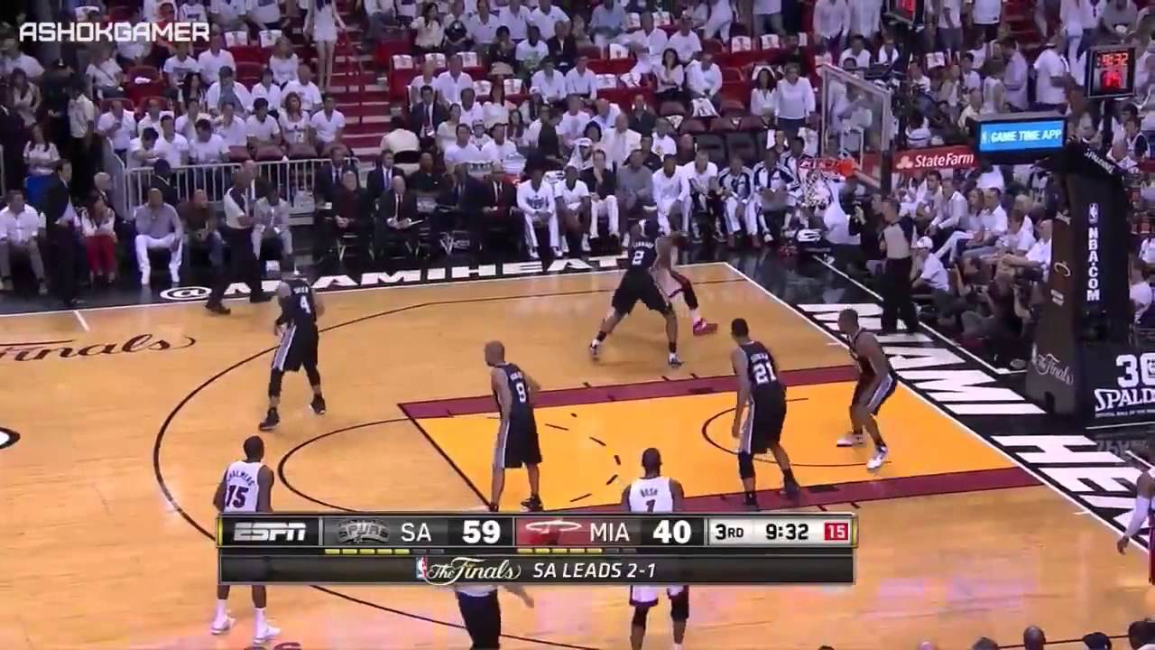 juego 4 San Antonio Spurs vs Miami Heat June 12, 2014 Full ...