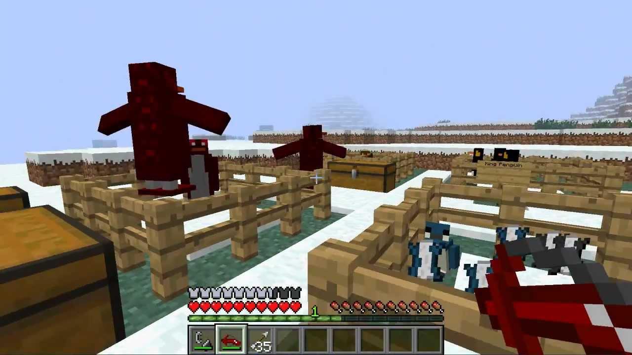 Minecraft Penguin Mod YouTube