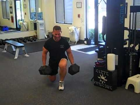 Fat loss Lifestyle's Darin Steen Takes on Lunge Challenge for Legs, Glutes, and buns