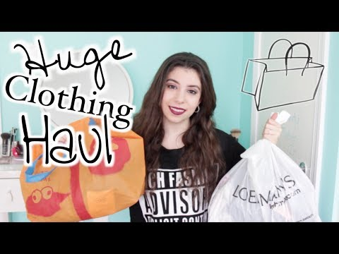HUGE Clothing Haul: Free People, Forever21, Urban Outfitters & More!
