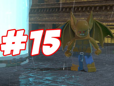 LEGO Batman 2 - LEGO BRICK ADVENTURES - PART 15 - MANBAT HELPER!