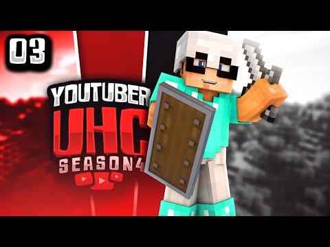Minecraft YouTuber UHC Season 4: Episode 3 - SURF'S UP!