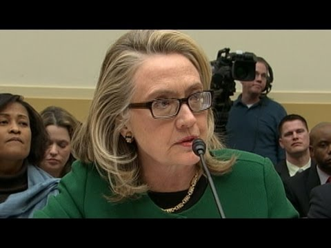 Hillary Clinton Testifies at Benghazi Hearing: Security Request Not Brought to My Attention