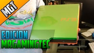 Custome  PS3 Unboxing Y Giveaway