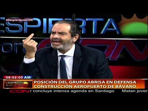 Entrevista al abogado de Grupo Bávaro, Luis Miguel Pereyra en Despierta con CDN