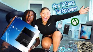 HOW TO ENTER THE GIVEAWAY (PS4 PRO, APPLE AIRPODS)