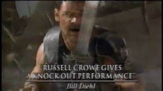 Gladiator and Road Trip TV Spots (2000) Russell Crowe, Tom Green