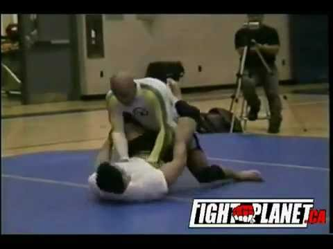 UFC Champ Georges St Pierre defeats Judo-Expert - Mike Nomikos, Freestyle Submission Wrestling Image 1