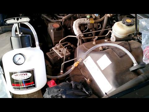 2002 Camaro Z28 Motive Black Label Pressure Brake Bleeding System How to/review