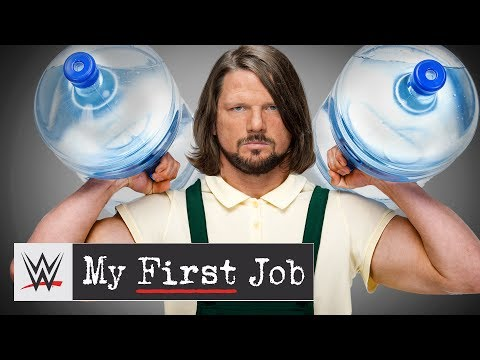 You won't believe the job AJ Styles chose over WCW: WWE My First Job thumbnail