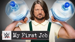 You won't believe the job AJ Styles chose over WCW: WWE My First Job