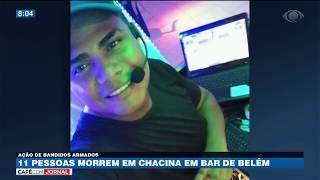 11 pessoas morrem em chacina em bar de Belém/PA