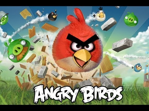 CGRoverboard ANGRY BIRDS LITE for iPod Touch Video Game Review