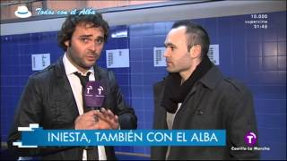 Andres Iniesta siempre con el Albacete Balompie