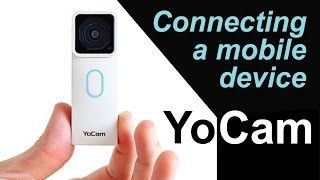 YoCam #2: Connecting a mobile device, smartphone - with Mofily Life Camera