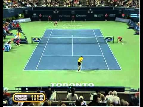Roger Federer vs Novak Djokovic ATP Masters 1000 Toronto last game & stats Video
