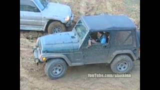 Mitsubishi Pajero vs Jeep Wrangler Off-Road